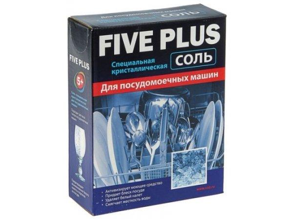 Соль для посудомоечных машин Five Plus 9628 (1.5 кг)