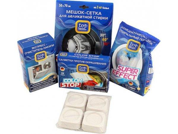 Набор средств по уходу за стиральной машиной Top House 390346