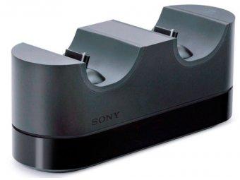 Зарядное устройство для PS4 SONY DualShock 4 на 2 геймпада (CUH-ZDC1/E)