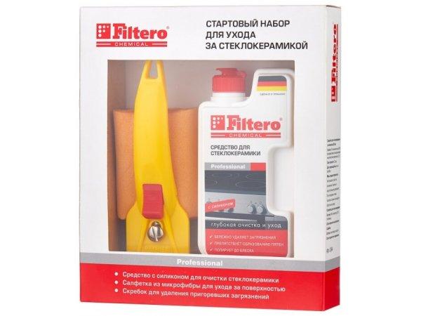 Набор для ухода за стеклокерамикой FILTERO 204