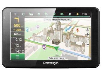 Портативный GPS-навигатор Prestigio GeoVision 5068 (PGPS5068CIS04GBNV)