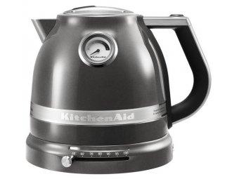 Чайник KitchenAid Artisan 5KEK1522EMS серебряный медальон