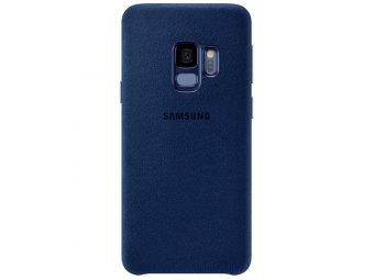 Чехол Samsung Alcantara Cover для Samsung Galaxy S9, Blue