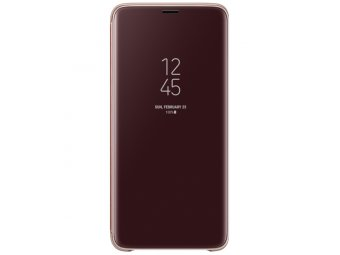 Чехол Samsung Clear View S.Cover для Samsung Galaxy S9+, Gold