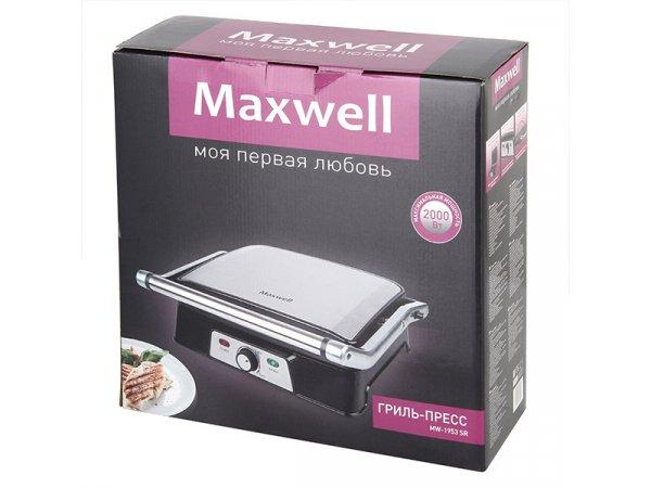 Электрогриль Maxwell MW-1953 SR