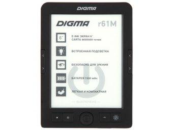 Электронная Книга Digma R61M черный