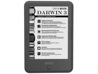 Электронная Книга Onyx BOOX DARWIN 3 темно-серая