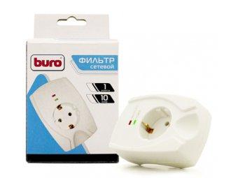 Сетевой фильтр Buro 100SH-Plus-W, белый