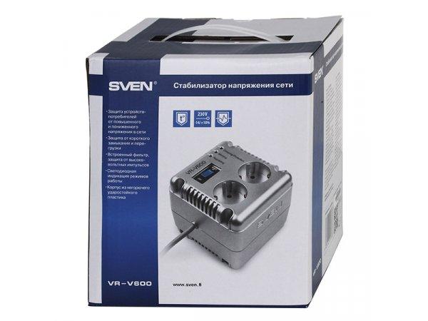 Стабилизатор напряжения Sven VR-V 600