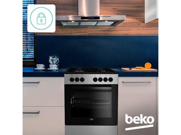 Газовая плита BEKO FSG62110DSCS