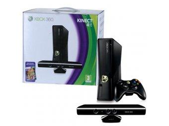 Игровая консоль Microsoft Xbox 360 4Gb + Kinect