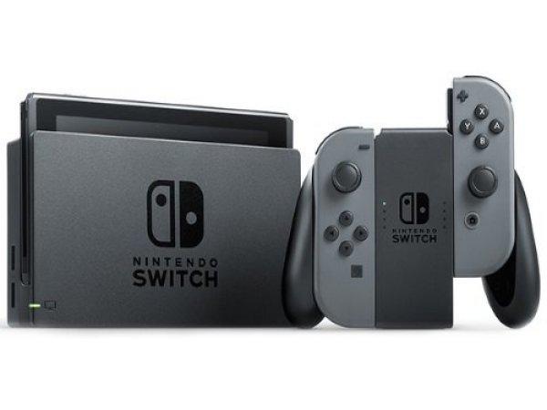 Игровая консоль Nintendo Switch серая + The Legend of Zelda: Breath of the Wild