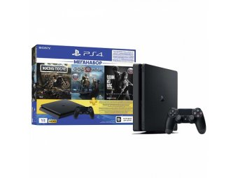 Игровая консоль Sony PlayStation 4 1Tb God of War (CUH-2108B)