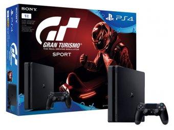Игровая консоль Sony PlayStation 4 1TB + Gran Turismo Sport (CUH-2108B)