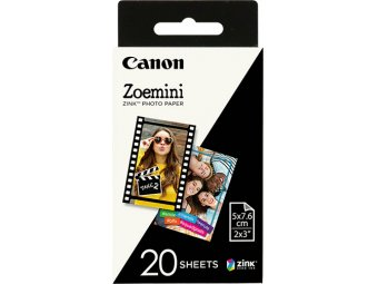 Картридж для фотоаппарата Canon Zoemini Zink Photo Paper, 20 листов (ZP-2030-20)