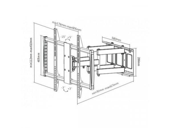 Кронштейн iTECHmount PTRB-95R
