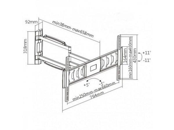 Кронштейн Ultramounts UM118