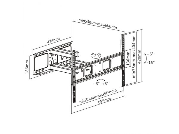 Кронштейн Ultramounts UM873F