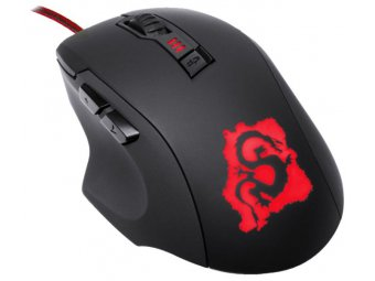 Игровая мышь Oklick 725G Dragon Black/Red