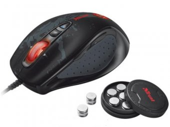 Игровая мышь Trust GXT 33 Laser Gaming Mouse Black USB