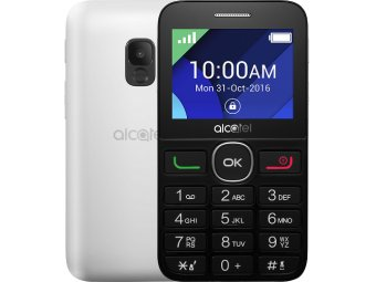 Мобильный телефон Alcatel One Touch 2008G Black/Pure White
