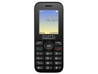 Мобильный телефон Alcatel One Touch 1020D Volcano Black