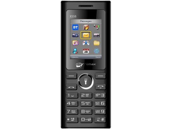Мобильный телефон Micromax X556 Black