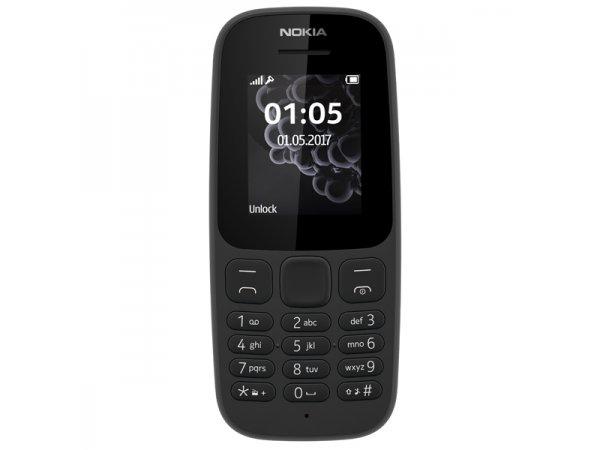 Мобильный телефон Nokia 105 (2019) Black (TA-1010)