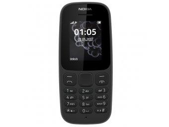 Мобильный телефон NOKIA 105 BLACK (2017) TA-1010