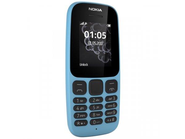 Мобильный телефон Nokia 105 (2017) Blue (TA-1010)