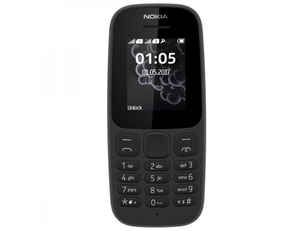 a542604ebfd29 Мобильный телефон Nokia 105 Dual sim (2017) Black (TA-1034) купить ...