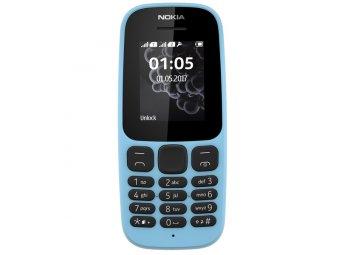 Мобильный телефон Nokia 105 Dual sim (2017) Blue (TA-1034)
