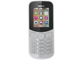 Мобильный телефон Nokia 130 Dual sim (2017) Gray