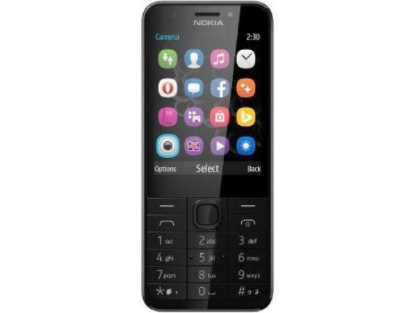 Мобильный телефон Nokia 230 DS Black/Silver