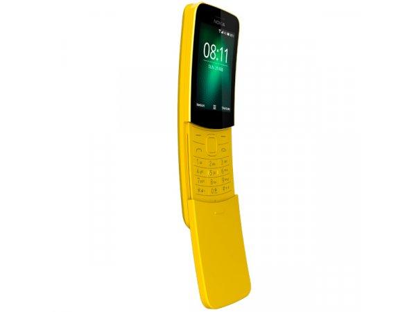 Мобильный телефон Nokia 8110 Yellow (TA-1048)