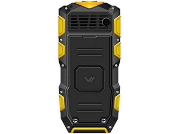Мобильный телефон Vertex K203 Black/Yellow