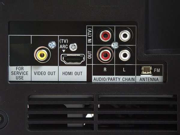 Музыкальный центр Sony MHC-GT4D