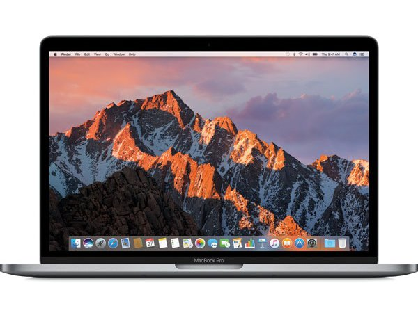 Ноутбук Apple MacBook Pro 13 with Retina display and Touch Bar Mid 2017 Space Gray (MPXV2RU/A)