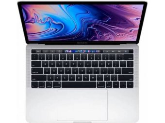 Ноутбук Apple MacBook Pro 13 with Retina display and Touch Bar Mid 2018 Silver (MR9U2)