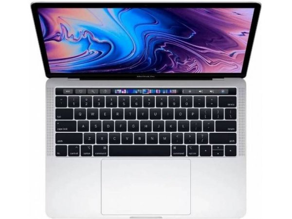 Ноутбук Apple MacBook Pro 13 with Retina display and Touch Bar Mid 2018 Silver (MR9V2)