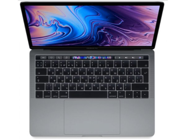 Ноутбук Apple MacBook Pro 13 with Retina display and Touch Bar Mid 2018 Space Gray (MR9Q2RU/A)