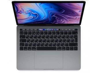 Ноутбук Apple MacBook Pro 13 with Retina display and Touch Bar Mid 2018 Space Gray (MR9R2RU/A)