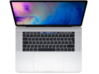 Ноутбук Apple MacBook Pro 15 with Retina display Mid 2018 Silver (MR962RU/A)