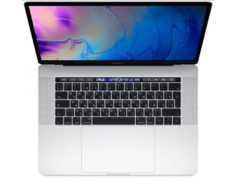 Ноутбук Apple MacBook Pro 15 with Retina display Mid 2018 Silver (MR972RU/A)