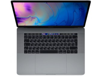 Ноутбук Apple MacBook Pro 15 with Retina display Mid 2018 Space Gray (MR942RU/A)