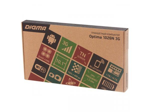 Планшет Digma Optima 1026N 3G (TT1192PG)