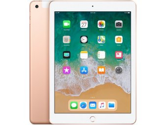 Планшет Apple iPad (2018) 128GB Wi-Fi+Cellular Gold (MRM22RU/A)