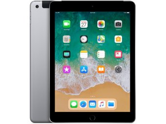 Планшет Apple iPad (2018) 128GB Wi-Fi Space Gray (MR7J2RU/A)