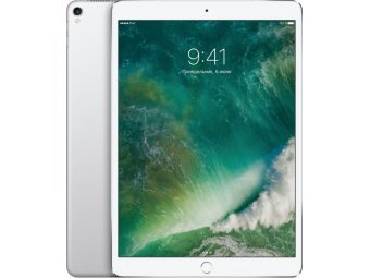 Планшет Apple iPad Pro 10.5 512 Gb Wi-Fi + Cellular Silver (MPMF2RU/A)
