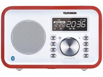 Радиоприемник Telefunken TF-1581UB Red
